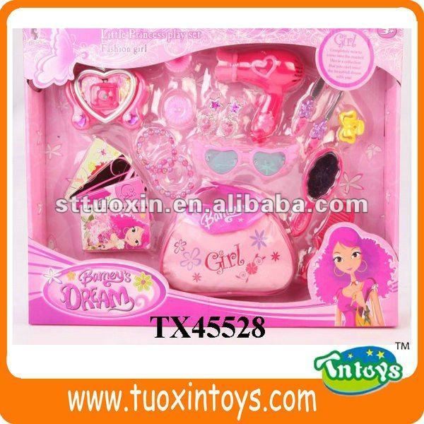 dolls beauty set doll accessories with dolls handbag