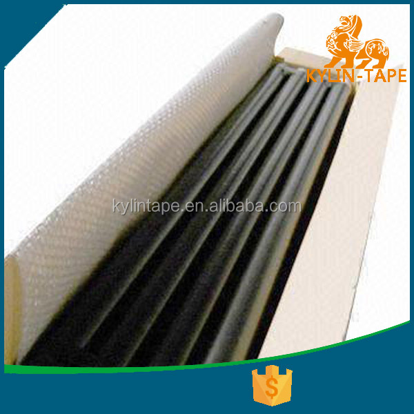 Good quality half-finished PVC Insulation Tape log roll rubber adhesive