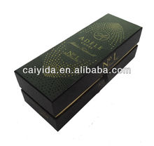 Hardcover paper wine packed box