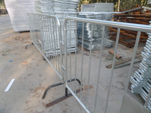 Replacement Bases (Feet)barricades/Bike Rack Style Steel Barrier/ event fence barricade /tubular road bar barrier