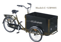 UB9005-N3SP cargo bike in tricycles with CE certification