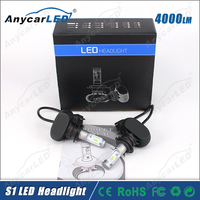 8000LM 30W S1 Auto motorcycle car super bright led headlight bulb h7