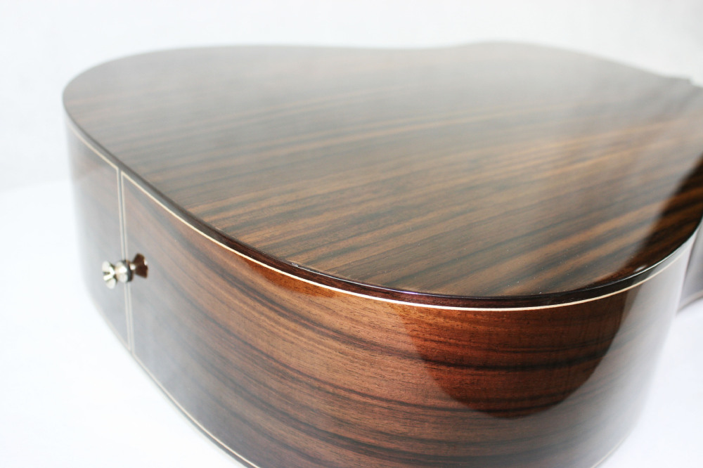 Wholesale custom chinese basswood body rosewood guitar
