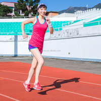 Summer Hot Sportswear new fashion round neck tank top contrast running wear