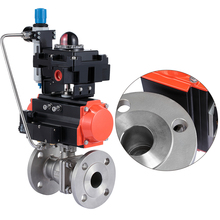 Best price 3/4 inch pneumatic WCB ball valve