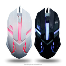 China wholesale wired backlight usb mouse game mouse notebook office light mouse LED light transmission
