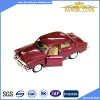 Wholesale mini 1:32 pull back open door alloy toy classic diecast model car