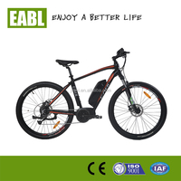 2017 OEM 36V 350W mid drive motor and powered strong electric bike/new design electric mountain bicycle