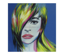 New Design Colorful Portrait Handmade Painting