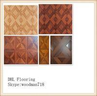10mm OEM high quality waterproof parquet laminated flooring in door used