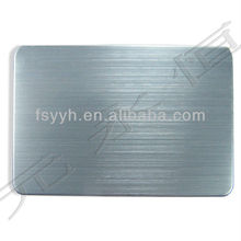 ASTM AISI GB rose gold hairline stainless steel sheet