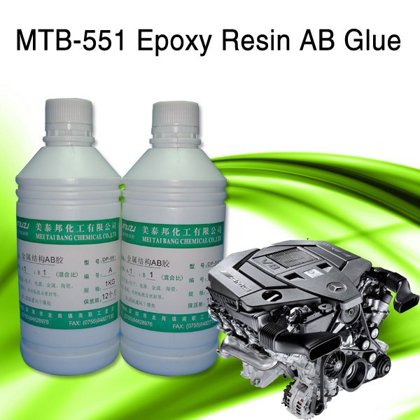 High Temperature Resistance Clear Liquid Epoxy Resin AB Glue