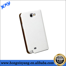 2014 Hot Selling Universal PU Flip Leather Case For Samsung Galaxy Note 2 with Credit card slot.