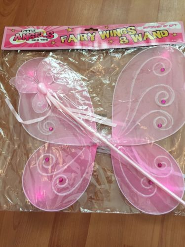 Wholesale fairy wing angel wing butterfly wings set for Butterfly wands wholesale