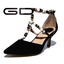 GD sexy gladiator special designed for hot girls pump high heel shoes