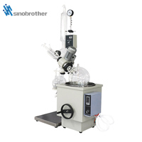 Best quality 10l Syrup Vacuum Rotary Evaporator from China