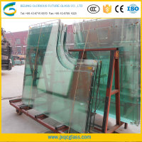 Customized Irregular Shape Tempered Glass table with CCC & ISO