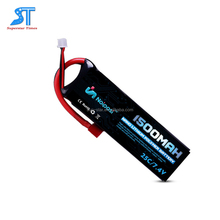 Newest wholesale 70C 1500mah 7.4v rc battery 4s lipo li-ion battery for FPV racing drone