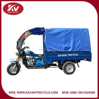 Hot selling high quality Africa passenger tricycle 200cc with canvas and windshield