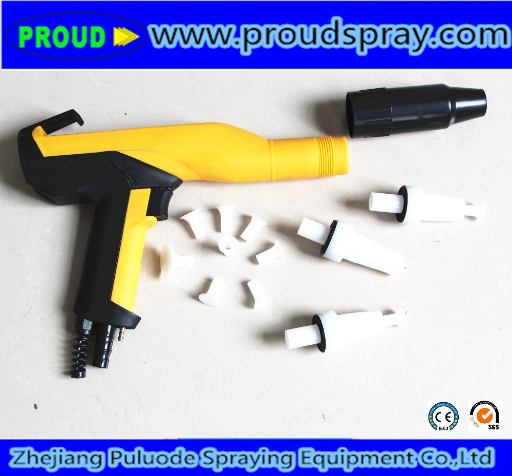 2017 New manual powder coating spray gun price paint spray guns