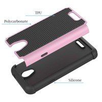 Heavy duty case for Alcatel one touch elevate mobile phone