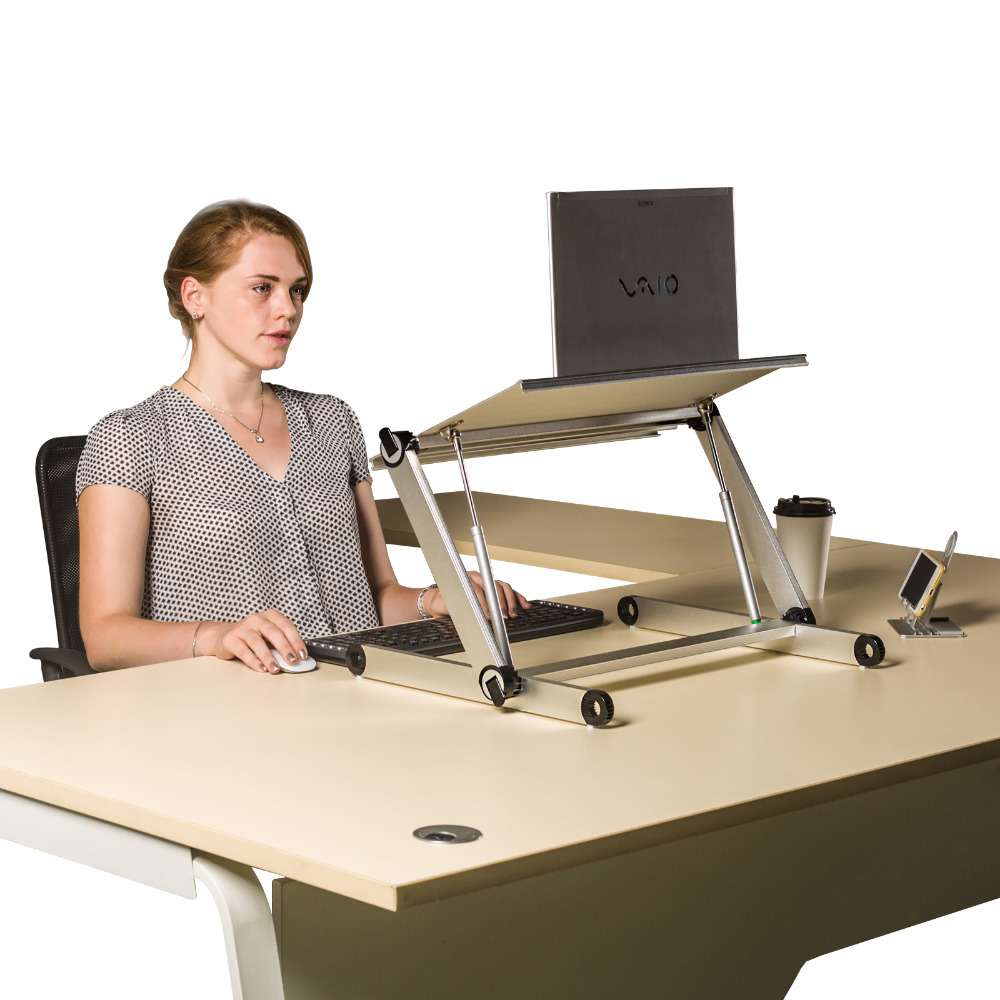 2017 OMax standing table folding laptop desk for your health work