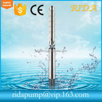RIDA 6INCH High Quality Sp Ss304 Ss316 Vertical Turbine Pump For Fire Fighting