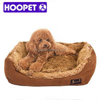2016 new arrival plush dog bed cozy dog bed snuggle dog bed
