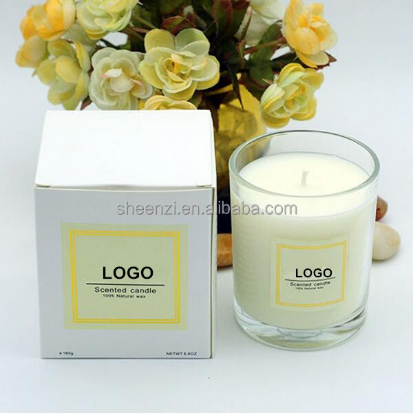 Manufacturers SupplieWholesale Fragrance Candles,Glass Jar Candles,Festive Scented Candles with Metal Lid