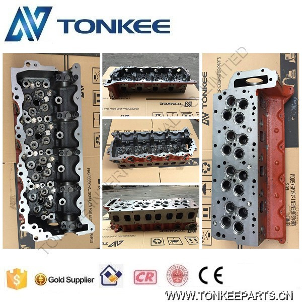 SK200-8 Cylinder Head J05E Engine Cylinder Head for Kobelco