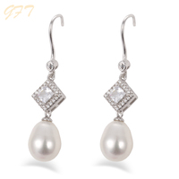 Christmas gift wholesale fashion costume bridal pearl earrings