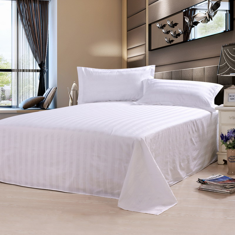 China Wholesale Stitching Organic Cotton Bed Sheet