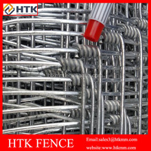 Hot Sale! High Quality Very Beautiful Galvanised Hinge Joint Hog sheep wire fence