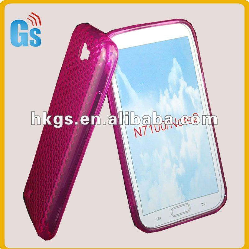 For samsung galaxy note II N7100 tpu diamond style case