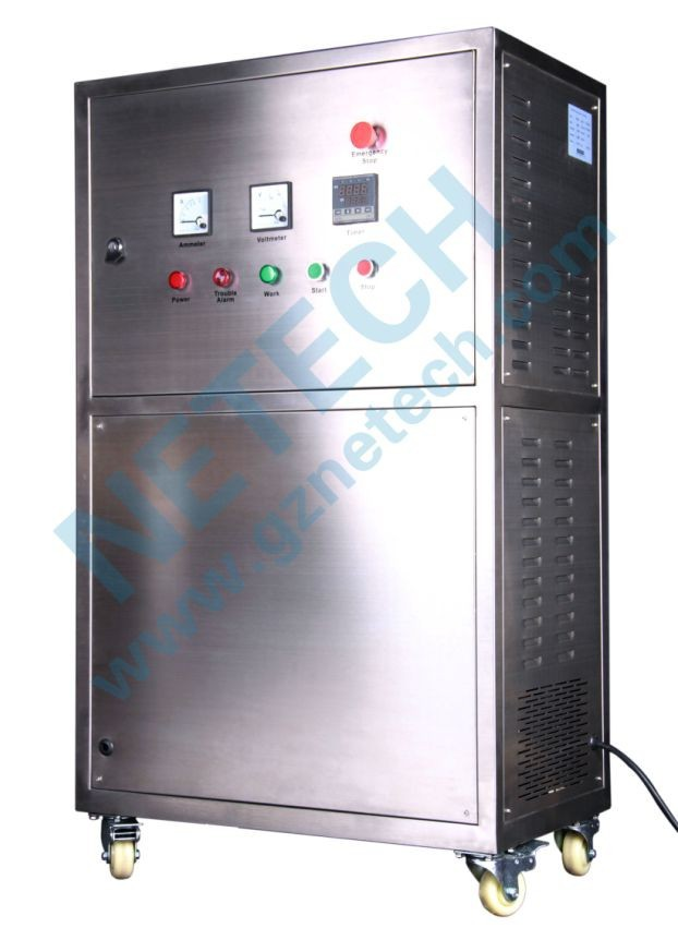 water cooling water ozonizer/ 4 - 15 PPM / ozone water for washing goods