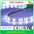 5050SMD Waterproof pink led strip light