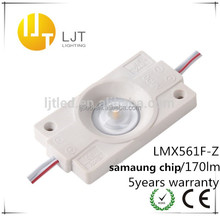 led module lens Samsung LMX561F,2W/PCS,LED injection mold module