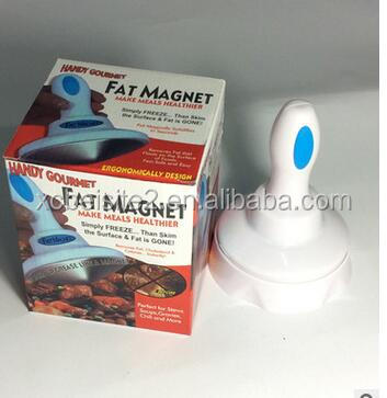 CY070 Fat Magnet Removes Fat Floating On Greasy Food Surfaces Reduce Cholesterol / Handy Gourmet Fat