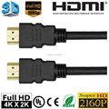 ULTRA HD HDMI 2.0 CABLE 1080P 2160P with Ethernet 24K Gold Plated 4Kx2K for BLURAY PS3 PS4 HDTV XBOX 360