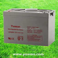 Yuasan Super High Quality Sealed Lead Acid Gel Solar Batteries--NPG90-12(12V90AH)