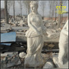 Stone carving characters Spot supply characters carved stone Westerners sculptures of white marble