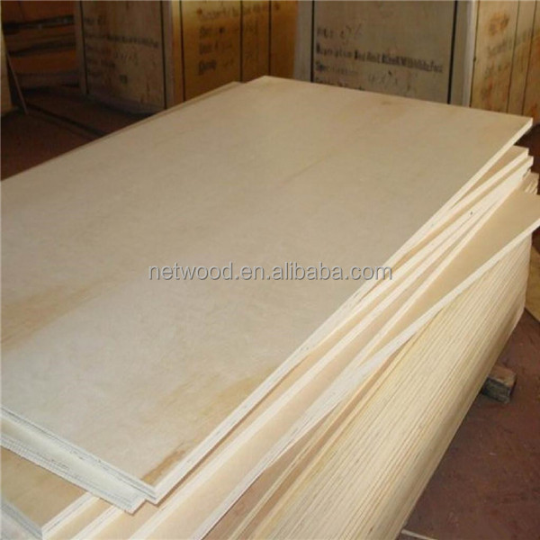 Russia Birch Veneer Plywood for Furniture from China Wood Supplier