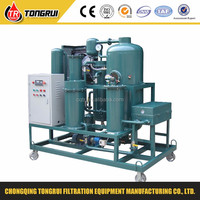 ZJD tongrui waste oil regeneration/separator/recycling/cleaning plant