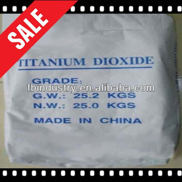 High quality titanium dioxide for polyester