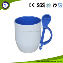 Sublimation Mug With Spoon In Handle Sublimation Spooner Mug