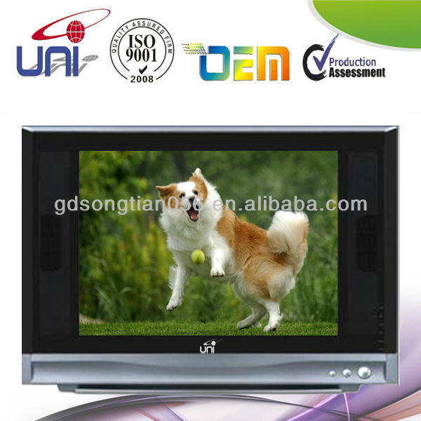 "2015 New Best HD tube Color TV 15""With Best Quality"