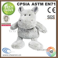 Best Selling Charm Hippo Soft 2 Years Old Baby Toys Doll