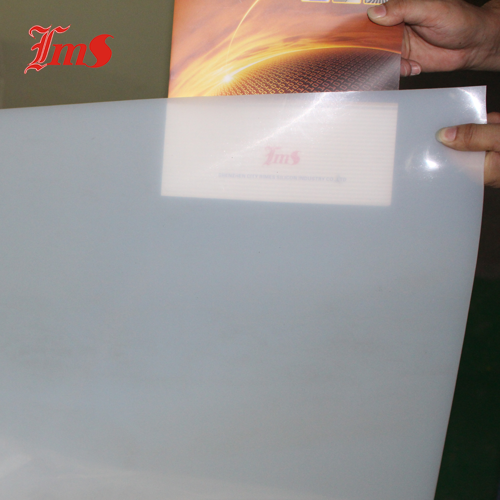 Translucent Medical Grade Silicone Rubber Pad for Heat Press