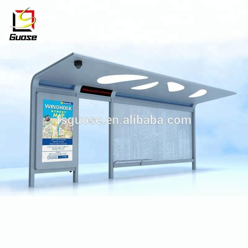 Urban City Outdoor Furniture Bus Shelter Buy Bus Shelter Smart Bus Station Led Screen Bus Station Product On Alibaba Com