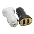 Dual Port 2.1A USB Car Charger Adapter for iPhone Samsung Smartphones